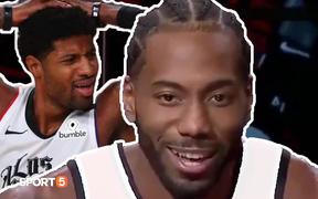NBA Media Day 2021: Kawhi Leonard tuyên bố trung thành và Paul George sẵn sàng gánh vác L.A Clippers