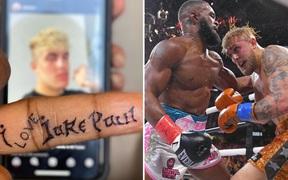 """Tyron Woodley đã xăm lên người dòng chữ """"Tôi yêu Jake Paul"""", nhanh chóng nhận được lời hồi đáp"""