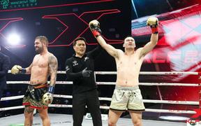 Đánh bại cả 'Thánh Muay', nhà vô địch thế giới vẫn thua đau trên đất Trung Quốc