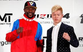 """Tố bị lừa, """"Độc cô cầu bại"""" Floyd Mayweather hủy đấu với thần đồng võ thuật Nhật Bản"""