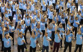 """Chương trình """"Tập huấn phát triển bóng rổ học đường"""" có mặt tại Hà Nội, thu hút sự tham gia của hàng nghìn giáo viên"""
