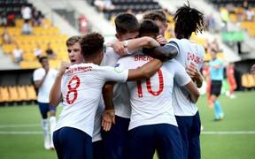 U19 Anh tuột mất cơ hội tham gia U20 World Cup