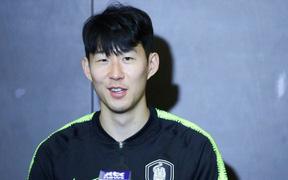 """Buổi phỏng vấn đầu tiên của Son Heung-min ở Asian Cup 2019: """"Tôi hứa sẽ mang cúp về cho đồng đội Tottenham chiêm ngưỡng"""""""