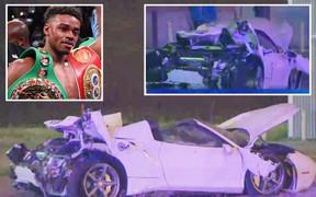 Nhà vô địch quyền Anh thế giới thoát chết thần kỳ sau tai nạn xe hơi kinh hoàng