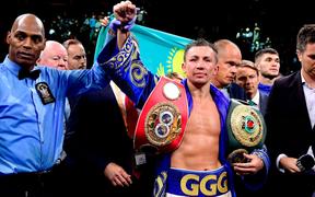 Huyền thoại Gennady Golovkin vất vả hạ gục đối thủ người Ukraine, giành về 2 đai vô địch thế giới