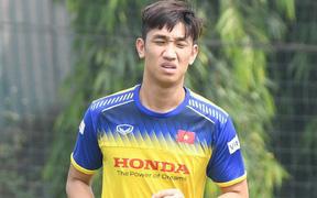 Chốt danh sách U22 Việt Nam đấu U22 UAE: Trọng Đại bị loại vì chấn thương