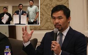 Giải đấu bóng rổ của huyền thoại boxing Philippines - Manny Pacquiao rúng động vì nghi án dàn xếp tỷ số