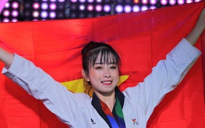 """Hot girl Taekwondo Châu Tuyết Vân: """"Tôi có chút lo lắng về sự khách quan của trọng tài tại SEA Games 30"""""""