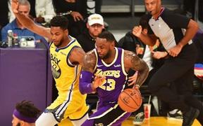 """NBA 19-20: Áp đảo ở khu vực dưới rổ, Los Angeles Lakers vẫn dễ dàng """"hủy diệt"""" Golden State Warriors"""