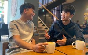 """Xuân Trường """"cực phiêu"""" khi đi chơi cùng Minh Vương tại Hàn Quốc"""
