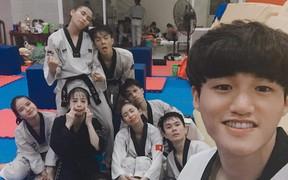 """Tuyển Taekwondo Việt Nam dự SEA Games muốn """"cover"""" màn chọc ghẹo đội trưởng ĐTQG Quế Ngọc Hải"""