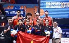 Đội tuyển bóng rổ Việt Nam nhận thưởng gần 1 tỷ đồng sau thành công ở SEA Games 30