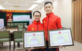 Vợ chồng VĐV khiêu vũ thể thao Đức Hòa - Hải Yến: Đằng sau huy chương vàng SEA Games 30 là hàng trăm triệu đồng tự bỏ túi