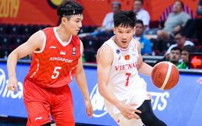 Chùm ảnh dấu ấn lịch sử của bóng rổ Việt Nam: Đả bại Singapore, lần đầu tiên góp mặt tại bán kết SEA Games