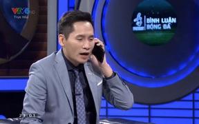 BLV Quốc Khánh lên tiếng xin lỗi Bùi Tiến Dũng trên sóng truyền hình trước trận U22 Việt Nam đấu Campuchia
