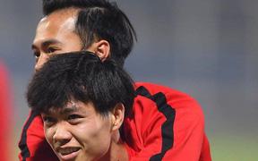 Công Phượng bồi hồi nhớ Văn Toàn trước giờ lên đường sang Hàn Quốc thi đấu