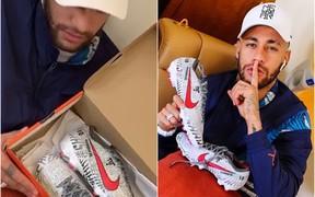 Neymar mượn giày mới toanh gửi thông điệp đanh thép đến những người chỉ trích mình