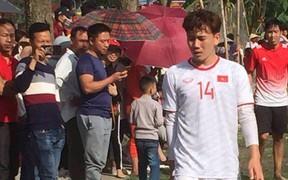 Minh Vương khai xuân bằng bàn thắng cho đội bóng quê hương