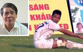 Cầu thủ Việt tự đá phạt vào lưới nhà nhận án cấm thi đấu 11 trận
