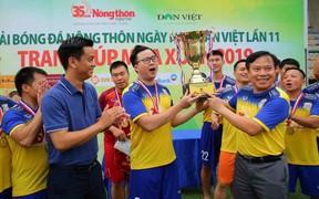 Báo Nông thôn Ngày nay lần thứ 4 giành Cúp Mùa xuân 2019
