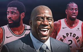 Magic Johnson cho rằng Kawhi Leonard, Kyrie Irving sẽ là mục tiêu hàng đầu của Lakers