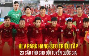 Danh sách tuyển Việt Nam dự King's Cup: Vắng nhiều ngôi sao