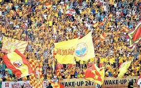 Không sở hữu nhiều tuyển thủ, sân Thiên Trường của Nam Định vẫn đông khán giả nhất lượt đi V.League 2019