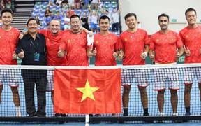 Quần vợt Việt Nam vô địch Davis Cup nhóm III, thăng hạng lên nhóm II châu Á - Thái Bình Dương