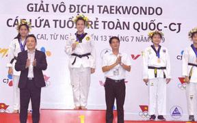 Đoàn Taekwondo TP.HCM giành số lượng HCV khó tin ở giải các lứa trẻ toàn quốc