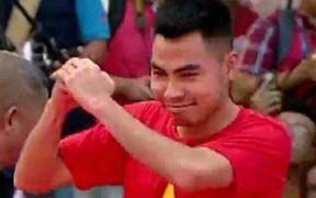 """Đức Huy vẫn còn """"phê"""" khi xem cảnh triệu người đổ ra đường đi bão mừng chiến thắng của ĐT U23 Việt Nam"""