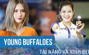 Ngẩn ngơ trước nhan sắc và thần thái đỉnh cao của những cô gái Young Buffaloes trong trận đấu sôi động của VBA 2019