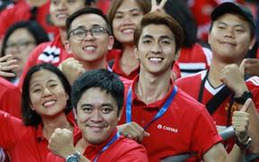Diễn viên Bình An mất ngủ sau khi trực tiếp chứng kiến MU đánh bại Inter Milan trên đất Singapore