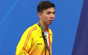 Hot boy bơi lội Huy Hoàng giành tấm vé dự Olympic 2020 đầu tiên của Việt Nam