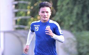 Quang Hải thu xếp xong chuyện gia đình, lập tức trở lại hội quân cùng Hà Nội FC