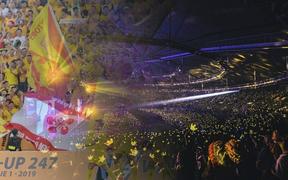 Sân Thiên Trường đẹp lung linh sau sự cố mất điện, fan hào hứng so sánh: Sao lại giống concert của Big Bang thế!