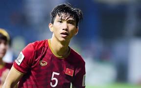 Nóng: Đoàn Văn Hậu chấn thương nặng, báo tin xấu cho HLV Park Hang-seo trước thềm vòng loại World Cup