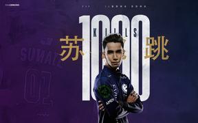 Tuyển thủ Dota 2 đầu tiên đạt kỉ lục 1000 mạng hạ gục tại The International 2019