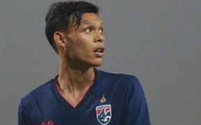 Sao trẻ từng đấm Đình Trọng bất ngờ được triệu tập lên đội tuyển Thái Lan chuẩn bị cho vòng loại World Cup 2022
