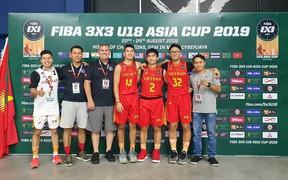 Toàn thắng ở vòng loại, tuyển Việt Nam ghi tên mình ở vòng bảng FIBA U18 3x3 Asia Cup