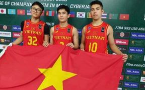 Thất bại trước Philippines và Turkmenistan, tuyển bóng rổ 3x3 U18 Việt Nam đành dừng bước ở vòng bảng