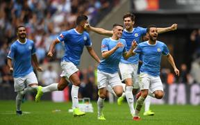 Man City đoạt Siêu cúp Anh sau loạt luân lưu cân não với Liverpool