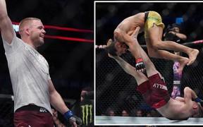 Không ngừng nhảy nhót, bày trò để chọc tức đối thủ, sau cùng, anh chàng võ sĩ cơ bắp lại trở thành trò cười cho cư dân mạng