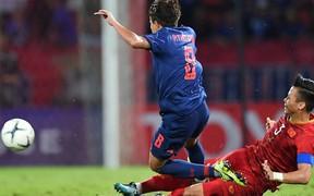 Cầu thủ Thái Lan phạm lỗi ác ý với Quế Ngọc Hải phải nghỉ 3 tuần vì chấn thương