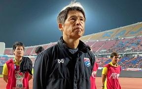 """Giúp U23 Thái Lan lập kỳ tích, HLV Nhật Bản nổ tưng bừng: """"Đừng lấy SEA Games làm thước đo cho chúng tôi"""""""