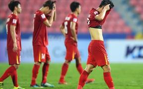"""Báo châu Á: """"Việt Nam bị loại là xứng đáng, tấn công mãi mà không thể ghi được bàn thắng"""""""