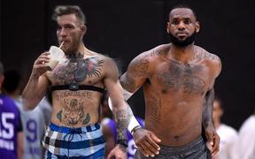 """Noi gương LeBron James, """"Gã điên UFC"""" Conor McGregor không còn keo kiệt với bản thân"""
