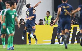 Xuất sắc cầm hòa Iraq, đội tuyển Thái Lan lần đầu tiên trong lịch sử vượt qua vòng bảng giải U23 châu Á