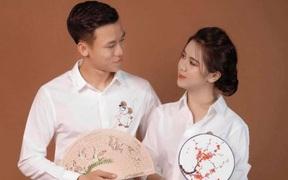 """Vợ Quế Ngọc Hải """"xém phun sữa"""" vì lời tỏ tình sến rện của chồng ngày valentine"""