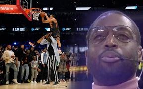 """Dwyane Wade chính thức lên tiếng sau loạt chỉ trích """"thiên vị"""" tại Slam Dunk Contest 2020"""