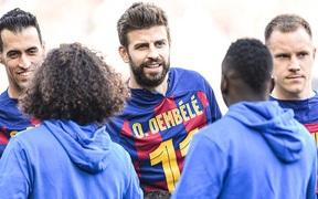 """Đàn em đen đủi dính chấn thương """"toang"""" luôn cả mùa giải, Messi cùng các đồng đội nghĩ ra cách động viên cực kỳ ấm lòng"""